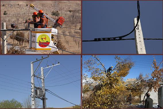 كاهش 30 درصدي خاموشي ها در برق شهرستان سامان