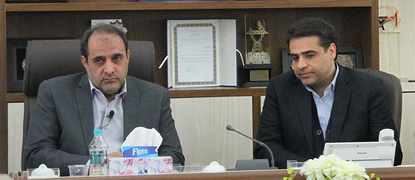 بازديد نماينده مردم شهرستان شهركرد ،بن و سامان از شركت توزيع برق استان چهارمحال وبختياري