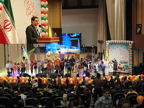 نوزدهمين جشن تقديراز دانش آموزان ودانشجويان ممتاز شركت توزيع نيروي برق استان چهارمحال وبختياري برگزار شد