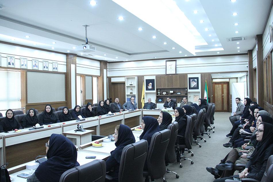 گراميداشت روز زن در شركت توزيع نيروي برق استان چهار محال وبختياري
