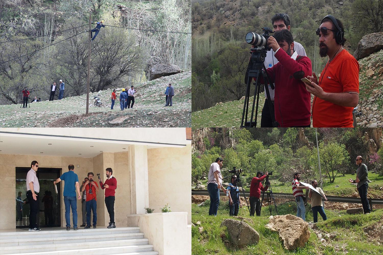 تصوير برداري مستند تلويزيوني(در مسير كابلها) در شركت توزيع نيروي برق استان چهار محال وبختياري