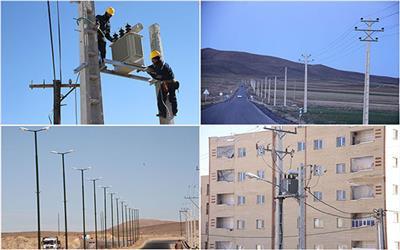 افتتاح و بهره برداري از 53 پروژه شركت توزيع نيروي برق استان چهارمحال وبختياري در دهه مبارك فجر